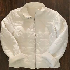 Weatherproof reversible coat